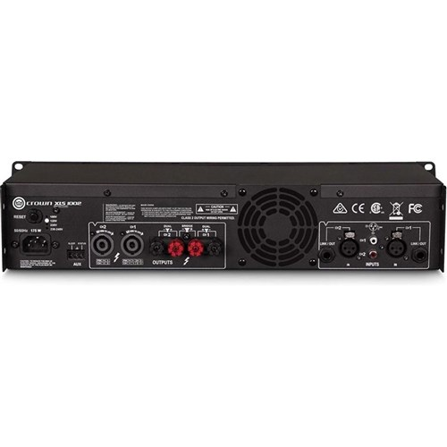 Crown XLS1002 Power Amplifier (2x 350W @ 4ohm)