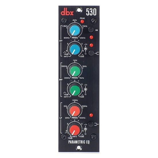 DBX 530 500 Series Parametric EQ