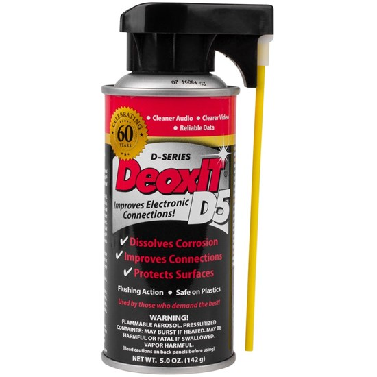 Fabulous DeoxIT D-Series Contact Cleaner & Rejuvenator - 5% Solution (142g PL25