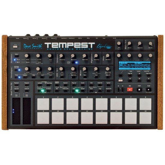 sequential dsi tempest analogue drum machine hardware drum machines samplers store dj. Black Bedroom Furniture Sets. Home Design Ideas