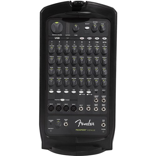 Fender Passport Venue (600W, 10 Channel, USB Play/Record)