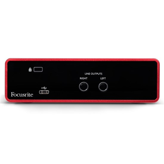 Focusrite Scarlett Solo Gen 3 2-in/2-out USB Audio Interface