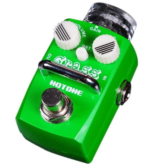 Hotone Skyline Grass Compact Overdrive Pedal w/ Bright Button & True Bypass