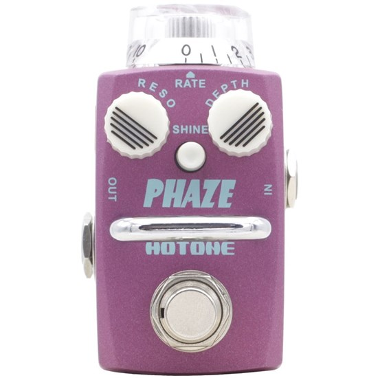 Hotone Skyline Phaze Compact Analogue Phaser Pedal w/ Shine Button & True Bypass