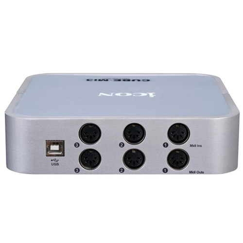 ICON Cube Mi3 3-In/3-Out MIDI interface