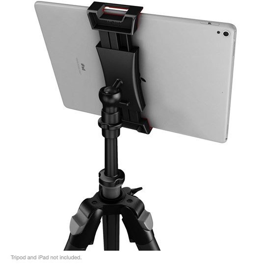 IK Multimedia iKlip 3 Deluxe Universal Mic Stand Support & Camera Tripod Mount for iPad
