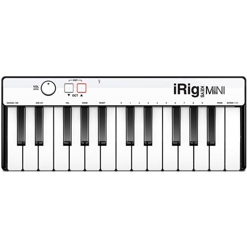 IK Multimedia iRig Keys Mini Controller for iOS, Mac & PC   MIDI