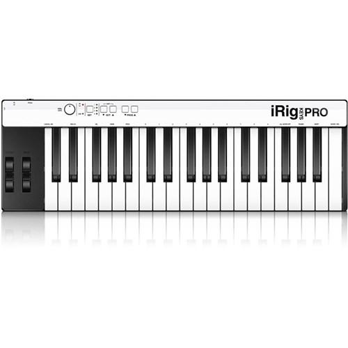 IK Multimedia iRig Keys Pro Controller for iOS, Mac & PC | MIDI