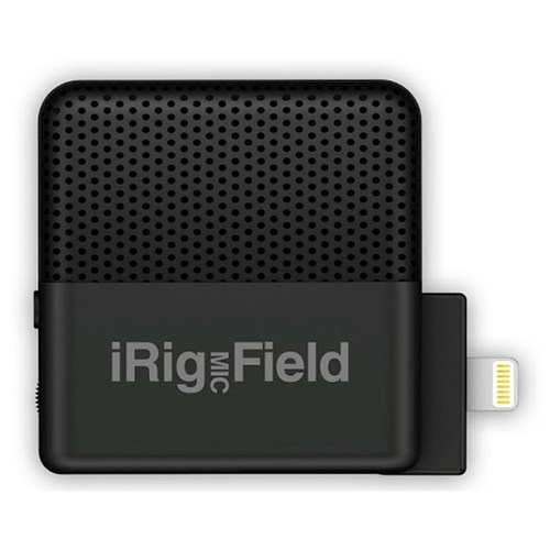 IK Multimedia iRig Mic Field Microphone for iOS Devices