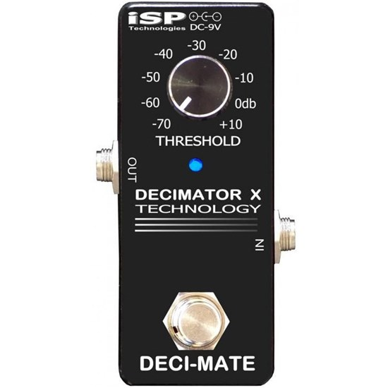 ISP Technologies Deci-Mate Micro Decimator Noise Reduction Pedal