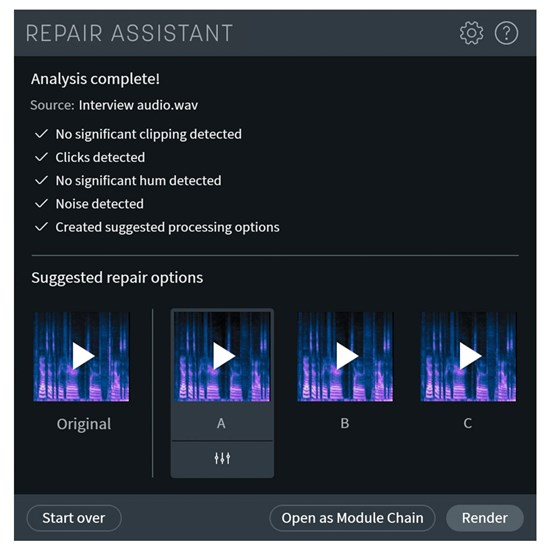 iZotope RX 8 Elements Audio Repair Software (Serial)