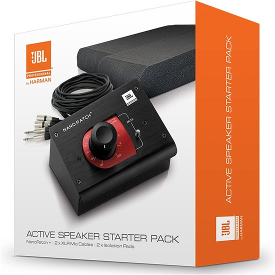 JBL ACTPACK Nano Patch Volume Control, Cables and Speaker Isolation Pads