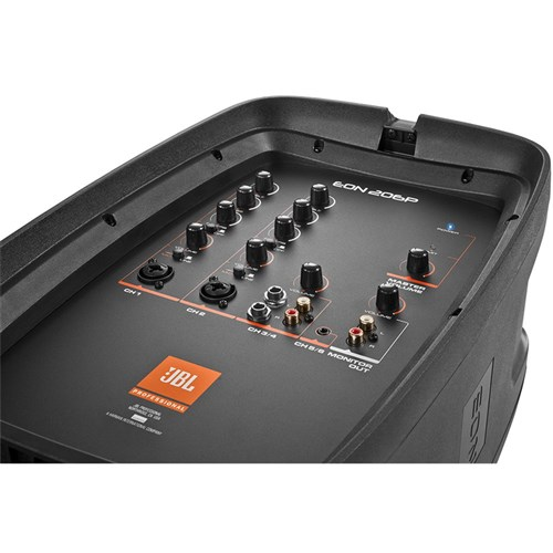 "JBL EON206P Portable 6.5"" 2-Way PA System w/ Powered 6-Channel Mixer"