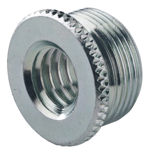 Konig & Meyer 3/8-5/8 inch Threaded Adaptor (Zinc-Plated)