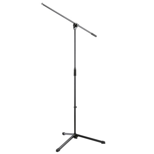 Konig & Meyer 25400 Entry Level Boom Arm Mic Stand (Black)