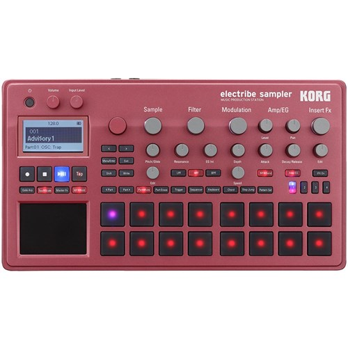 Korg Electribe 2 Sampler Music Production Station (Ltd Edition Metallic Red)