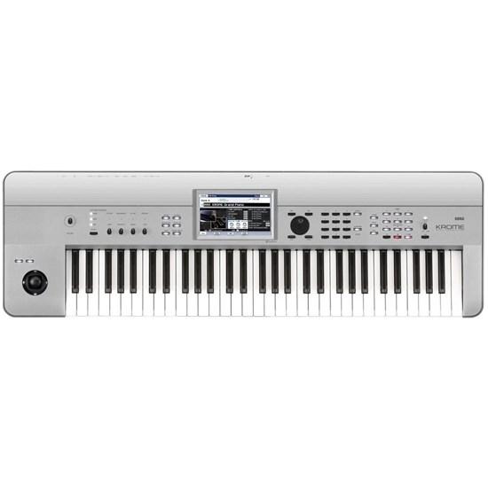 Korg Krome 61-Key Synthesizer Workstation (Limited Edition Platinum