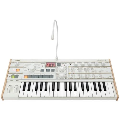 Korg microKORG S Analog Modelling Synth / Vocoder   Keyboard