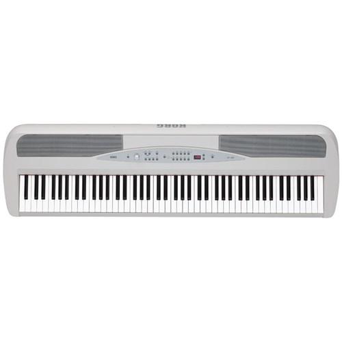 Korg SP-280 88-Key Digital Piano w/ MIDI (White)