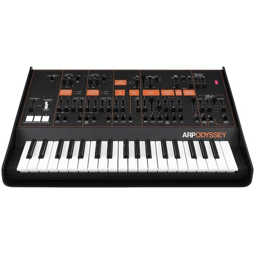 B-STOCK Korg ARP Odyssey Duophonic Synthesizer (Black & Orange)
