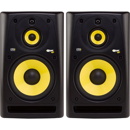 krk rp10 3 g3 10 3 way studio monitors black pair active dj monitors store dj. Black Bedroom Furniture Sets. Home Design Ideas