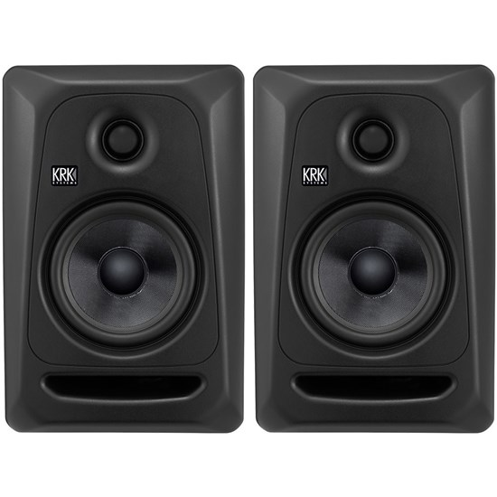 "KRK ROKIT RP5G3 5"" Powered Studio Monitors (Stealth Black)"