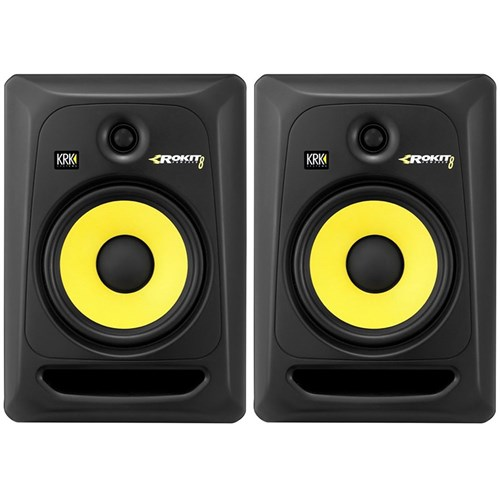 "KRK ROKIT RP8G3 8"" Studio Monitors (Pair)"