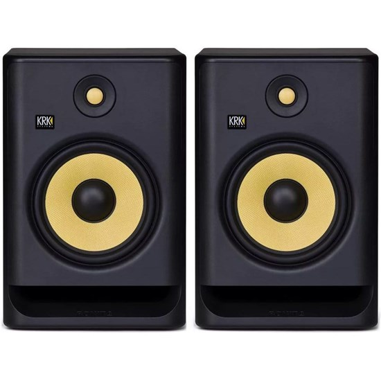 "KRK ROKIT RP8G4 8"" Studio Monitors (Black Pair)"