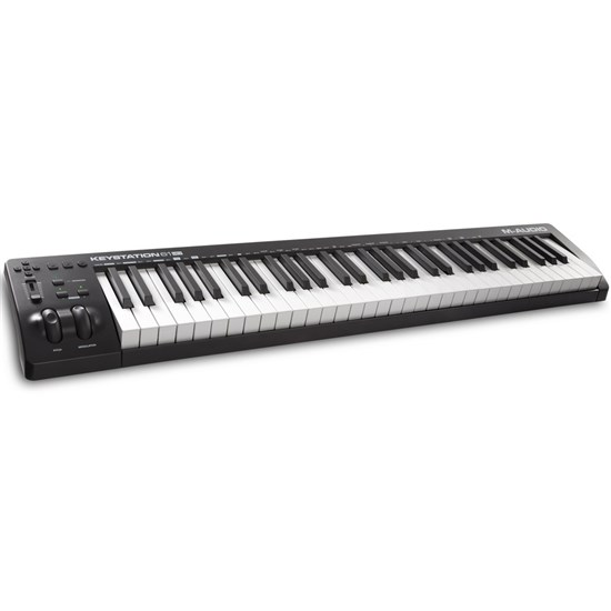 m audio keystation 61 mk3 61 key semi weighted usb midi controller midi keyboards store dj. Black Bedroom Furniture Sets. Home Design Ideas