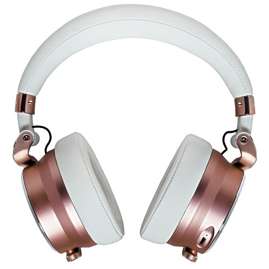 Meters Music OV-1 Over Ear Noise Cancelling Headphones w/ VU Meter (Rose)