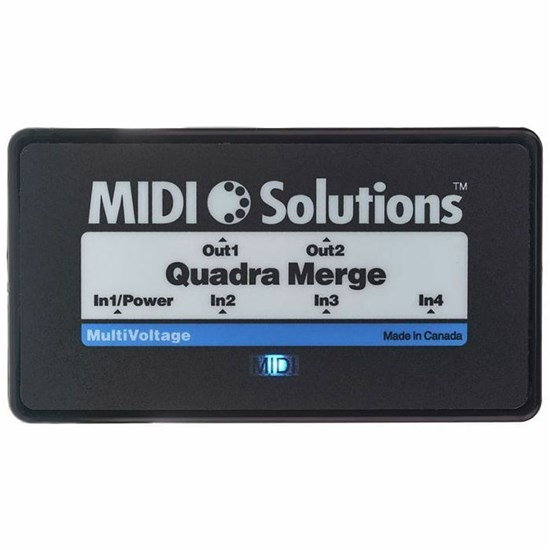 MIDI Solutions 4-In/2-Out Quadra Merge