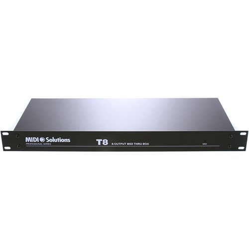 MIDI Solutions T8 Eight Out MIDI Thru Box