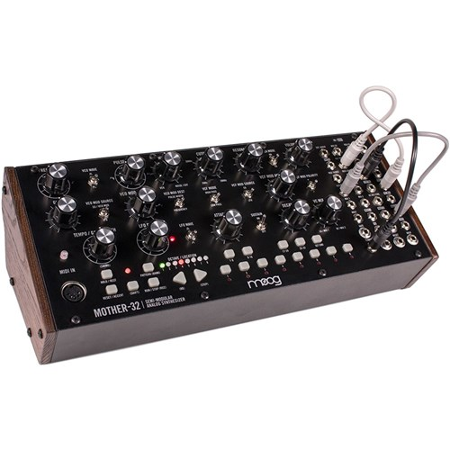 Moog Mother 32 Tabletop Semi Modular Analogue Synth Desktop