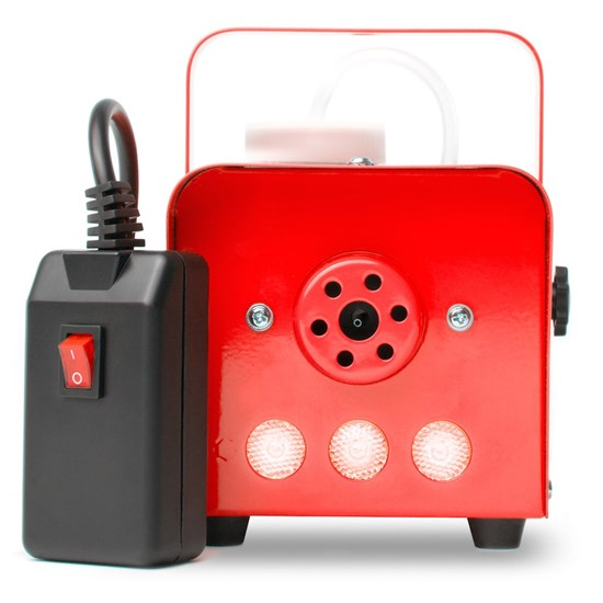 MarQ Fog 400 LED Quick-Ready Water-Based Fog Machine - 400W (Red case with Red LED's)