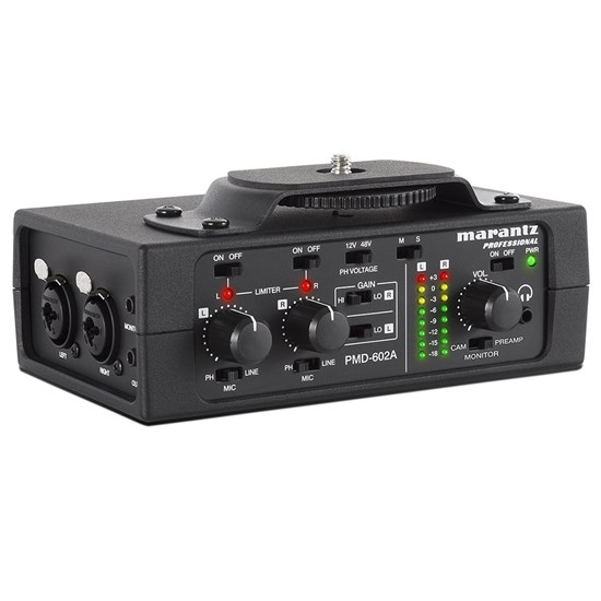 Marantz Professional PMD602A 2-Channel DSLR Audio Interface