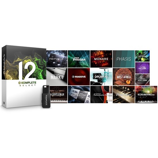 Native Instruments Komplete 12 Select Music Production Suite