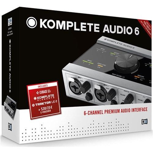 Native Instruments Komplete Audio 6 plus Komplete Elements