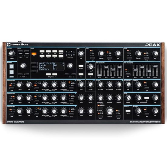 Novation Peak Eight-voice Polyphonic Digital Analogue Hybrid Synthesizer