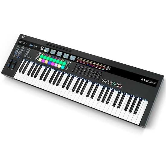 Novation Remote SL 61 MKIII MIDI & CV Keyboard Controller w/ 8-Track Sequencer