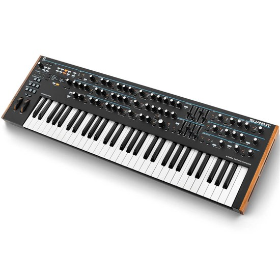 Novation Summit 16 Voice Bi Timbral 61-Key Hybrid Keyboard Synthesizer