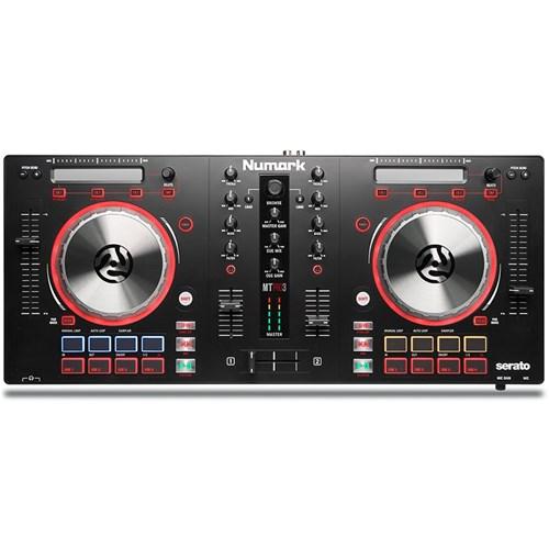 Numark Mixtrack Pro 3 DJ Controller w/ Serato DJ Intro (Black) | DJ