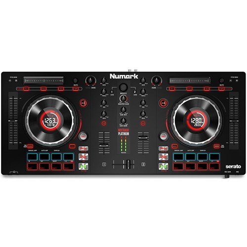 Numark Mixtrack Platinum Controller w/ Serato DJ Intro   DJ