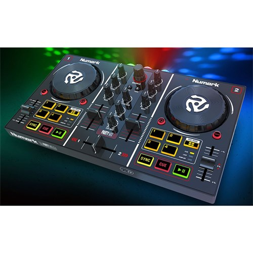 Numark Party Mix DJ Control System w/ Built-In Light Show