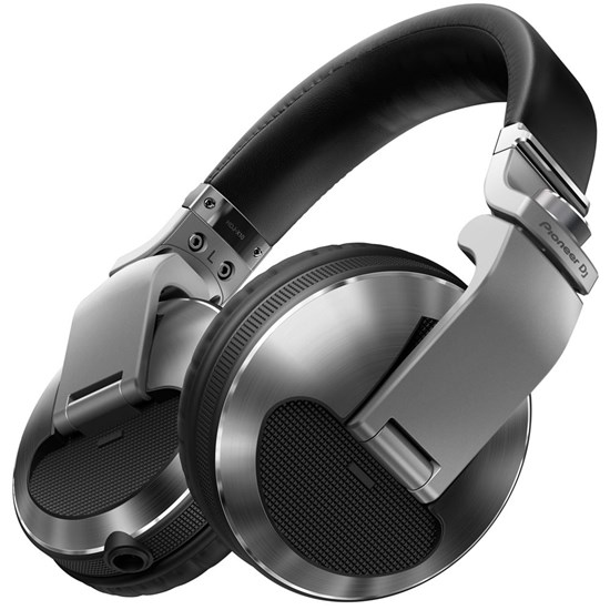 Pioneer HDJX10 Flagship Professional Over-Ear DJ Headphones (Silver)