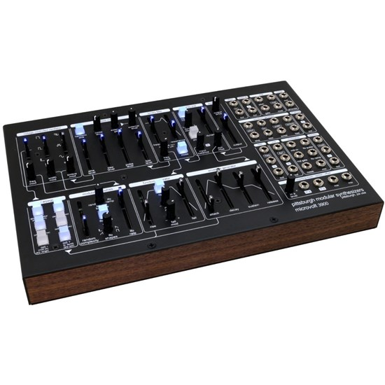 Pittsburgh Modular Microvolt 3900 Desktop Semi-Modular Synth