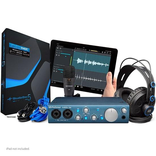 presonus audiobox itwo studio pack w usb ipad interface m7 mic hd7 phones studio one usb. Black Bedroom Furniture Sets. Home Design Ideas