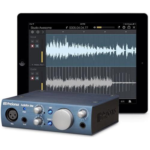 presonus audiobox ione usb ipad audio interface w studio one artist daw studio magic usb. Black Bedroom Furniture Sets. Home Design Ideas
