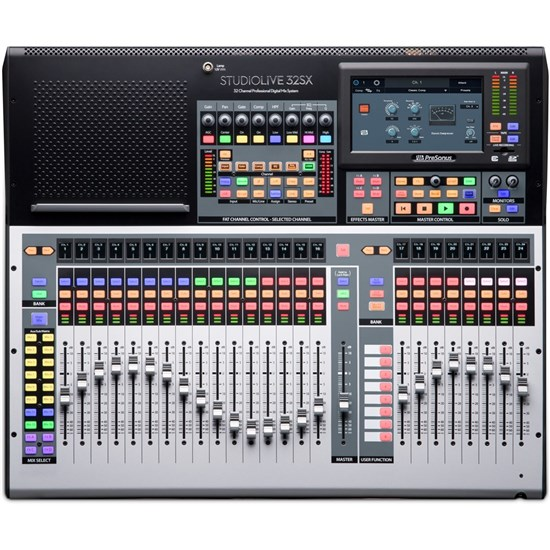 presonus studiolive 32sx 32 ch digital mixer usb audio interface w motorised faders digital. Black Bedroom Furniture Sets. Home Design Ideas
