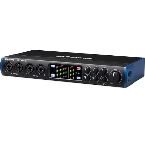 PreSonus Studio 1810c 18x8 192kHz USB-C Audio Interface w/ Studio One Artist DAW