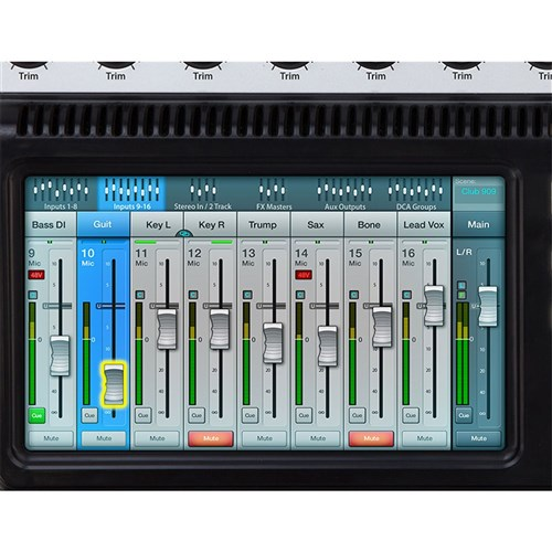 qsc touchmix 8 12 input compact digital mixer digital mixers store dj. Black Bedroom Furniture Sets. Home Design Ideas